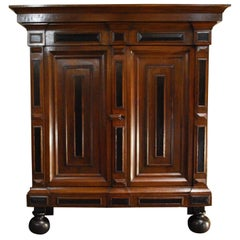 18th Century Dutch Renaissance Oak Cabinet