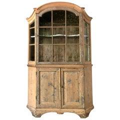 18th Century Dutch Vitrine Cabinet