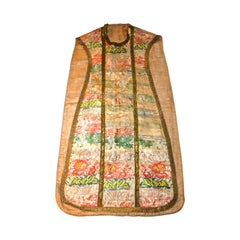 18th Century Embroidered French Chasuable