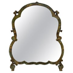 18th Century English Chinoiserie Dressing Table Mirror