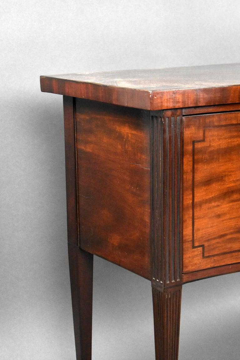 18th Century English George III Mahogany Sideboard For Sale 3