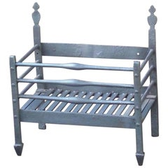 18th Century English Georgian Fireplace Grate or Fire Grate