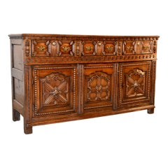 18th Century English Oak Dresser Base