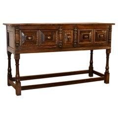 18th Century English Oak Sideboard