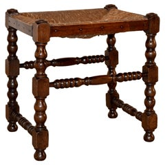 18th Century English Oak Stool