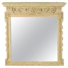 18th Century English Overmantel Mirror