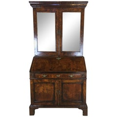 18th Century English Queen Anne Secretary Walnut