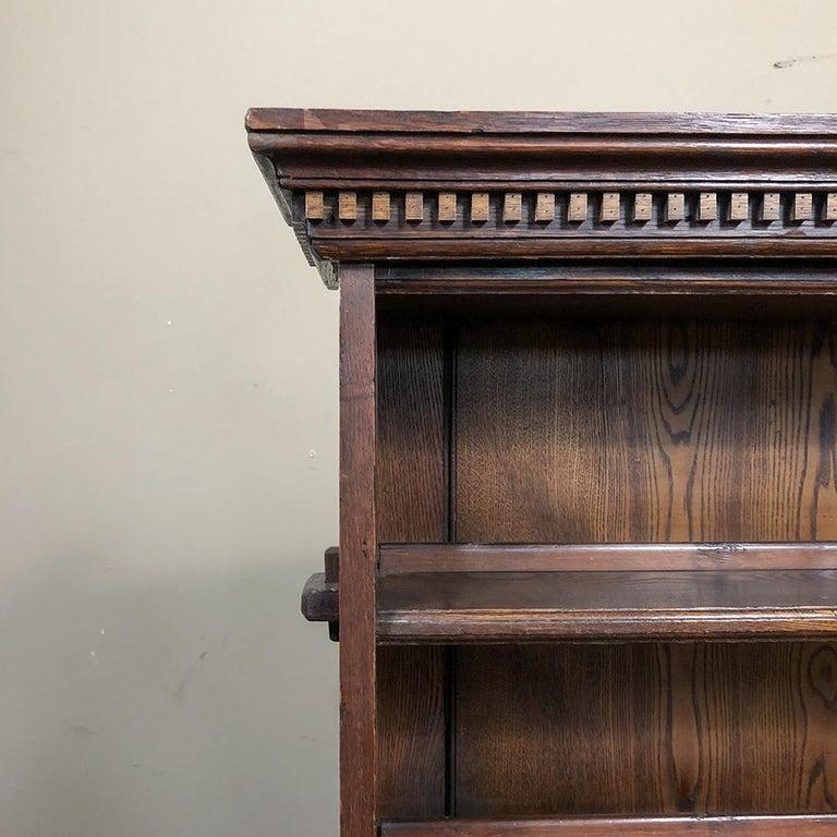 18th Century English Renaissance Secretary Bookcase For Sale 8