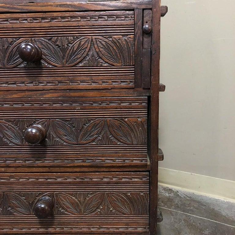 18th Century English Renaissance Secretary Bookcase For Sale 12