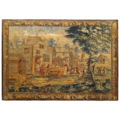 18th Century English Rustic Tapestry