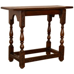 18th Century English Side Table