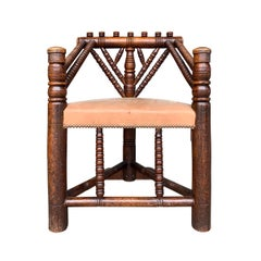 18th Century English Turner's Chair