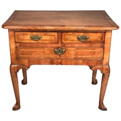 18th Century English Walnut Lowboy
