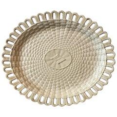 18th Century English Wedgwood Creamware Platter