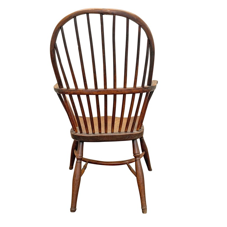 18th Century English Windsor Chair For Sale 3