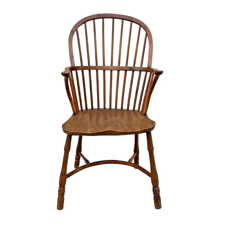 British 18th Century English Windsor Chair For Sale