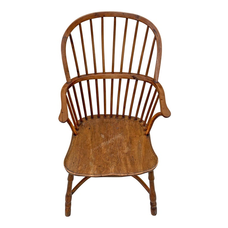 18th Century English Windsor Chair In Good Condition For Sale In Chicago, IL