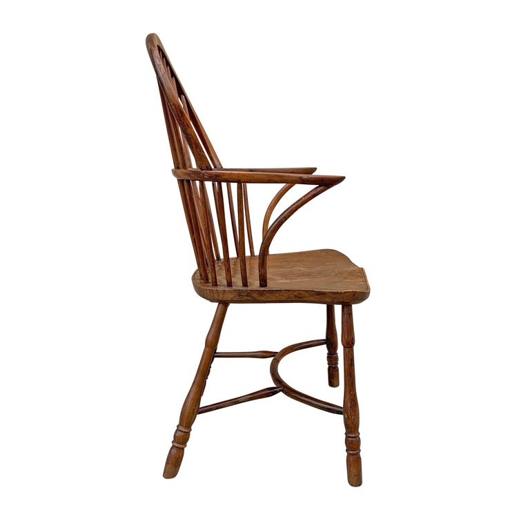 18th Century and Earlier 18th Century English Windsor Chair For Sale