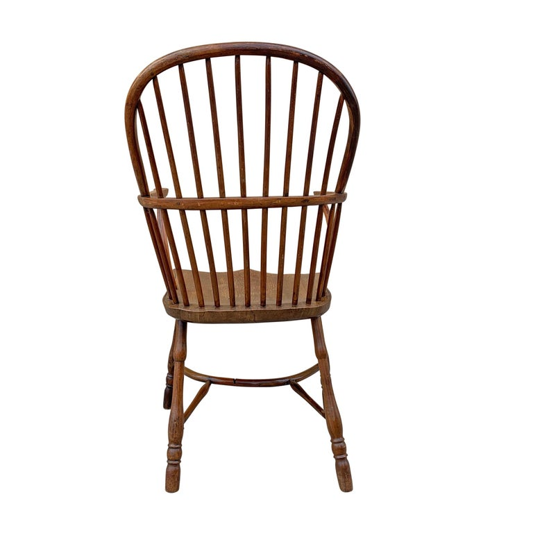 Elm 18th Century English Windsor Chair For Sale