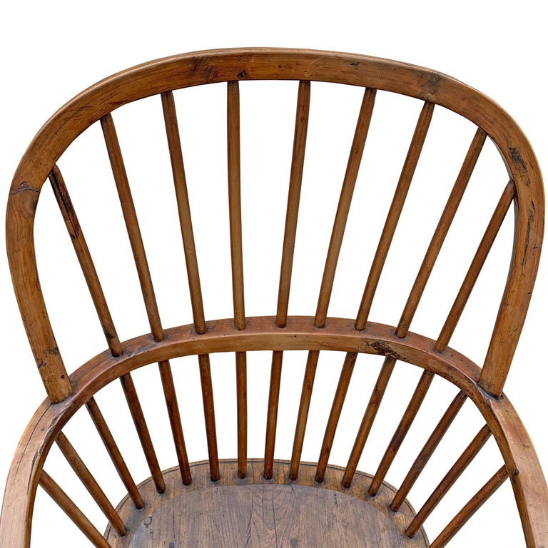 18th Century English Windsor Chair For Sale 2