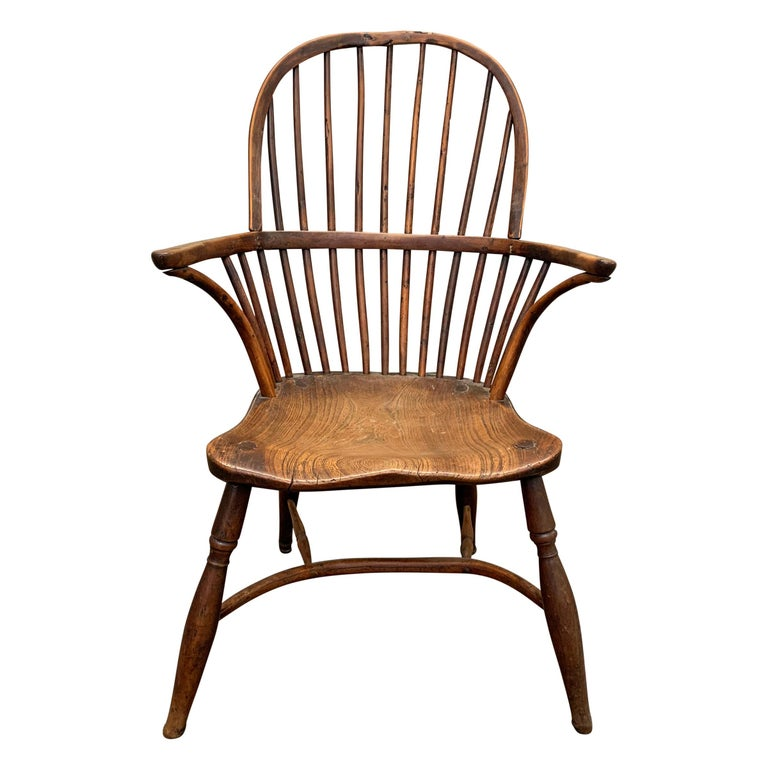 18th Century English Windsor Chair For Sale