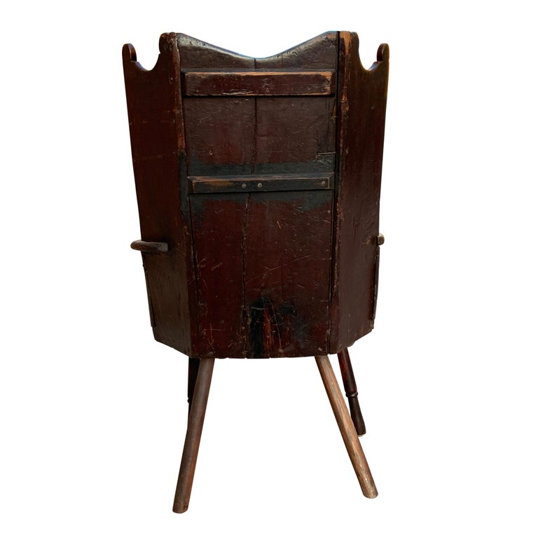 18th Century English Wingback Chair For Sale 5