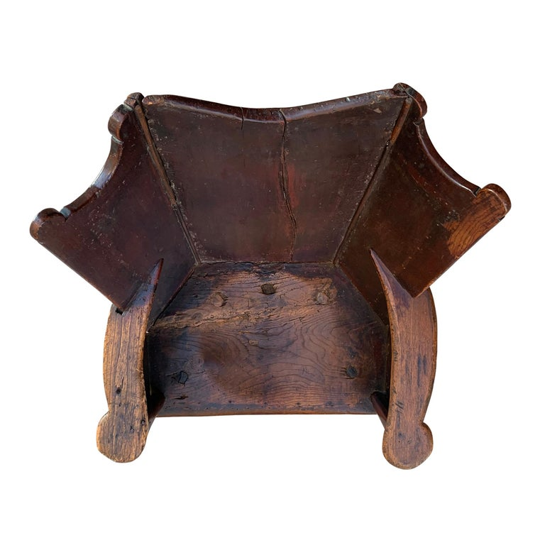 British 18th Century English Wingback Chair For Sale