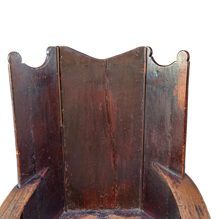 18th Century English Wingback Chair For Sale 1