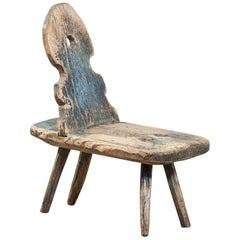 18th Century European Painted Chair