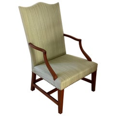 18th Century Federal Hepplewhite Lolling Chair