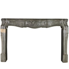 18th Century Fine French Antique Fireplace Surround