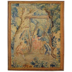 18th Century Flemish Rustic Tapestry