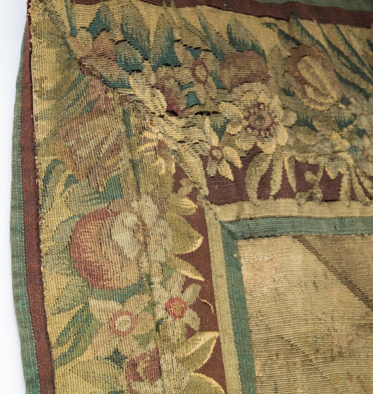 18th Century Flemish Tapestry For Sale 2