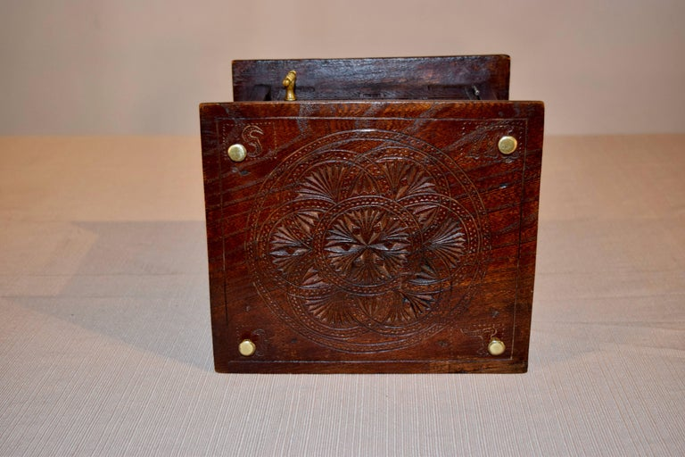 Oak 18th Century Foot Warmer For Sale