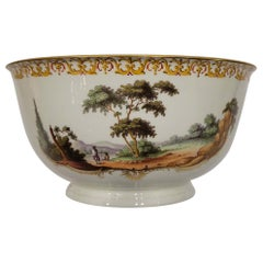 18th Century Frankenthal Hard Paste Porcelain Bowl