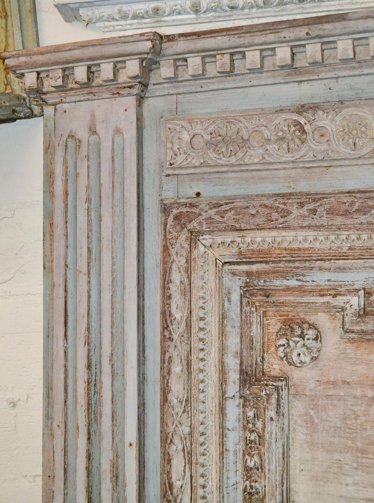 Carved 18th Century French Architectural Panel For Sale
