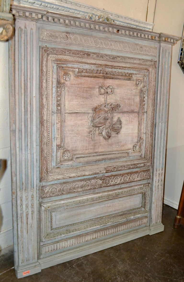18th Century French Architectural Panel In Good Condition For Sale In Dallas, TX