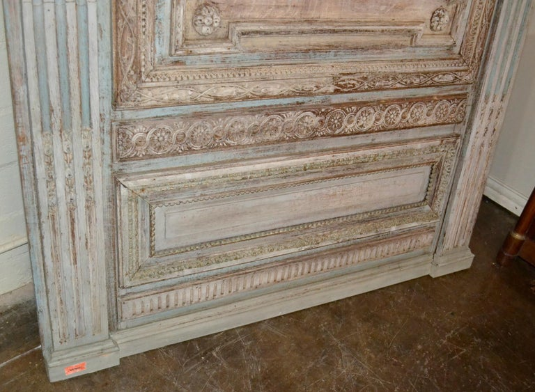 18th Century and Earlier 18th Century French Architectural Panel For Sale