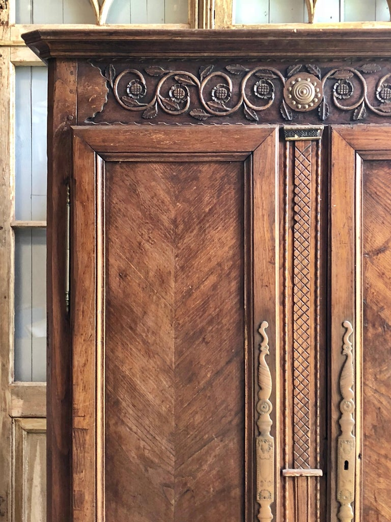 18th Century French Armoire For Sale 1