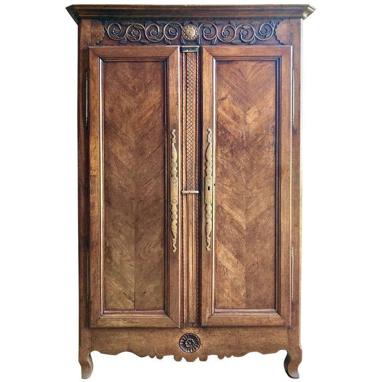18th Century French Armoire For Sale