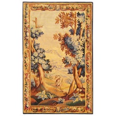 18th Century French Aubusson Verdure Landscape Tapestry