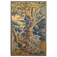 18th Century French Aubusson Verdure Tapestry Panel