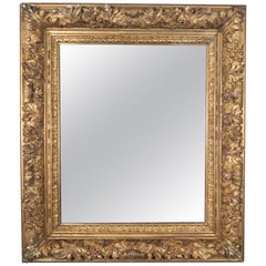 18th Century French Carved Louis XIV Style Mirror