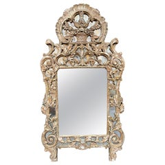 18th Century French Carved Mirror