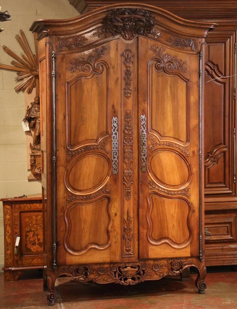 This antique fruitwood