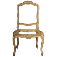 18th Century French Chair Louis XV Paris