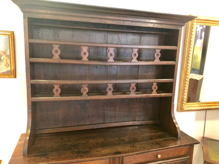 French Provincial 18th Century French Country Cupboard For Sale