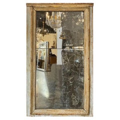18th Century French Directoire Divided Glass Mirror