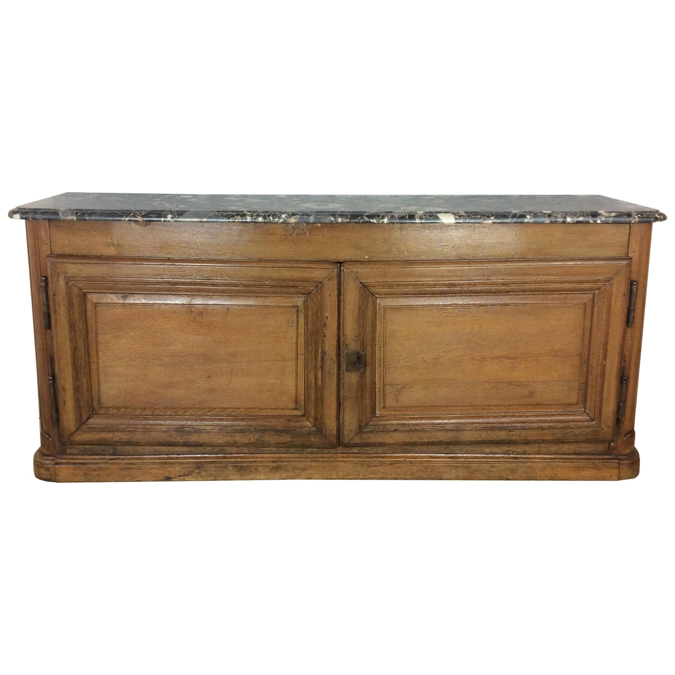 18th Century French Buffet de Chasse, Enfilade or Credenza