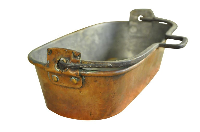 18th Century and Earlier 18th Century French Fish Pan For Sale
